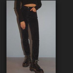Brandy Melville Navy Jane Corduroy Pants